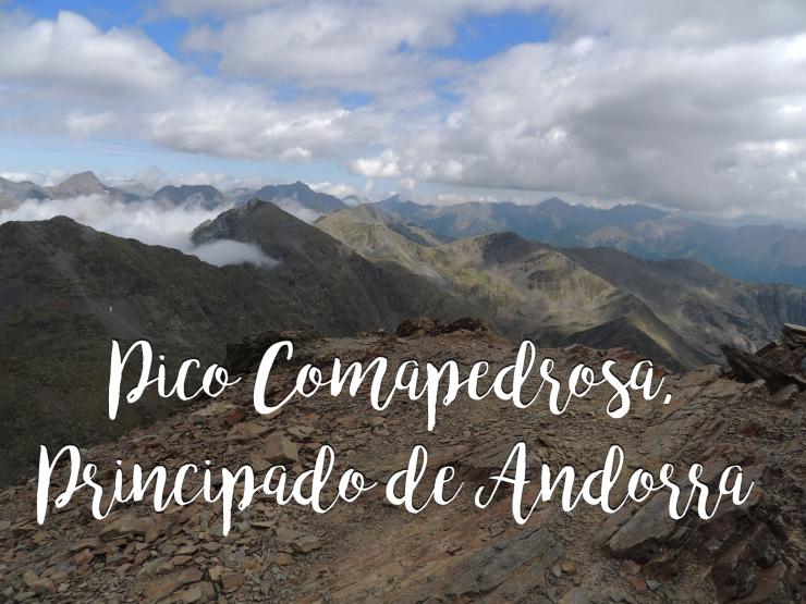 Pico Comapedrosa Andorra