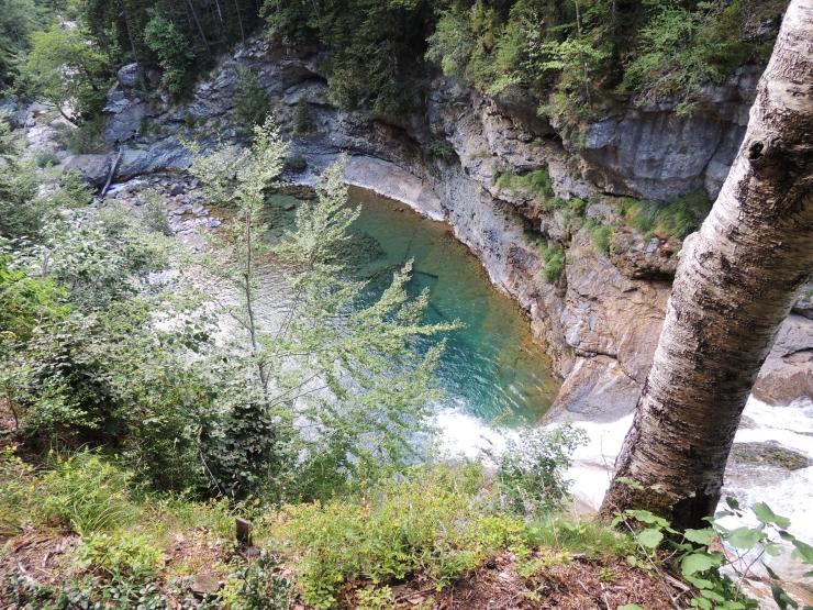 Cascada Tamborrotera Ganitas de Andurrear